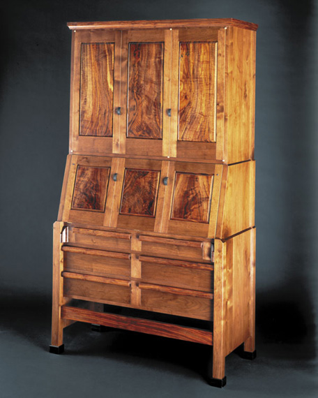 Sterling woodworking custom artisan furniture for Furniture w hidden compartments